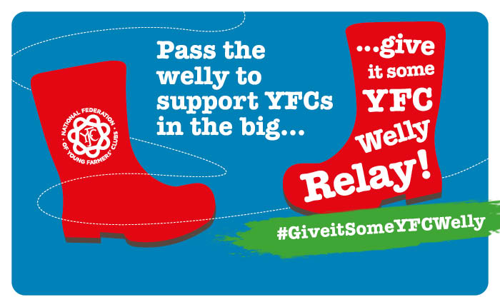Give it some welly relay